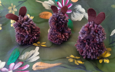 Family Craft – Bunny & Chick Pom Poms